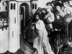 Император Ираклий вносит Крест в Иерусалим