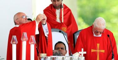 Папа на Мессе в Ольгине: милосердие Иисуса преображает историю