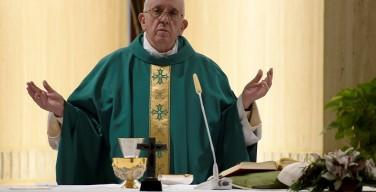 Папа: Божье прощение — не судебное решение