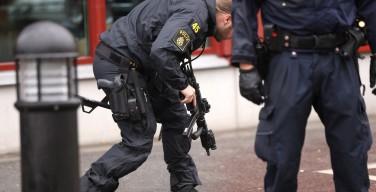 Человек в маске и с мечом напал на школу в Швеции