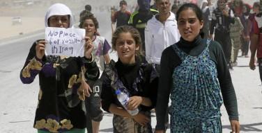 Женщины-езидки совершают самоубийства, чтобы избежать сексуального рабства у боевиков