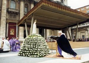 Иоанн Павел II в Фатиме
