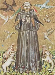 Св. Франциск Ассизский, небесный покровитель экологов