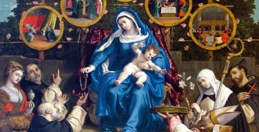 Папа вверил Пресвятой Деве Марии Розария семьи всего мира