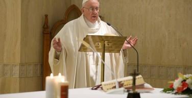 Папа: нельзя контролировать спасение, Божья любовь — это дар