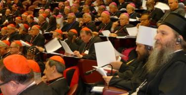 На заседании Синода Епископов выступил митрополит Волоколамский Иларион