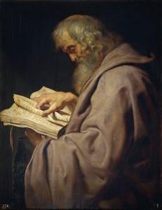 Рубенс. Апостол Симон Зилот