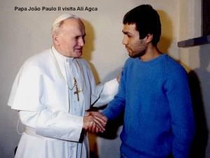 Иоанн Павел II и Али Агджа