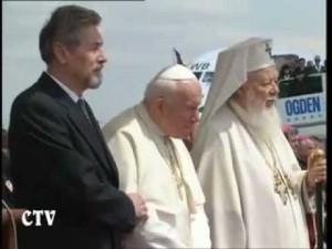 Иоанн Павел II в Румынии