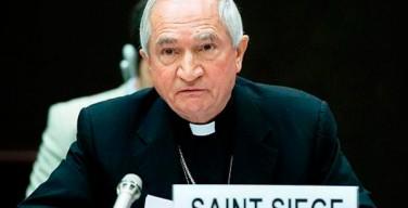 Архиепископ Томази: Европа должна осознать свою ответственность за наплыв беженцев