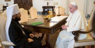 Посол Святого Престола: Папа Франциск стремится к развитию диалога с РПЦ