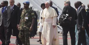 Начался визит Папы Франциск в Центральноафриканскую республику