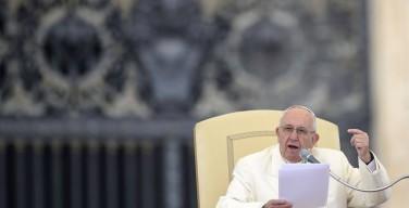 Призывы Папы Франциска, прозвучавшие на общей аудиенции в среду 18 ноября