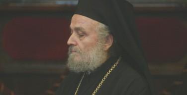 Впервые за семь лет низложенный Иерусалимский Патриарх вышел из затвора