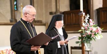 Патриарх Константинопольский посетил Архиепископа Кентерберийского