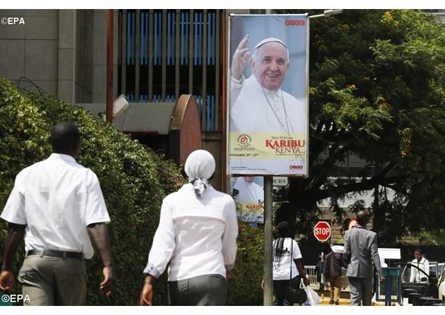 Папа Франциск обратился с видеопосланием к народам Кении, Уганды и Центральноафриканской республики