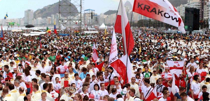 На ВДМ-2016 в Кракове уже более 400 тысяч зарегистрированных паломников