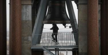Колокол Исаакия ударил 224 раза в память о погибших в авиакатастрофе