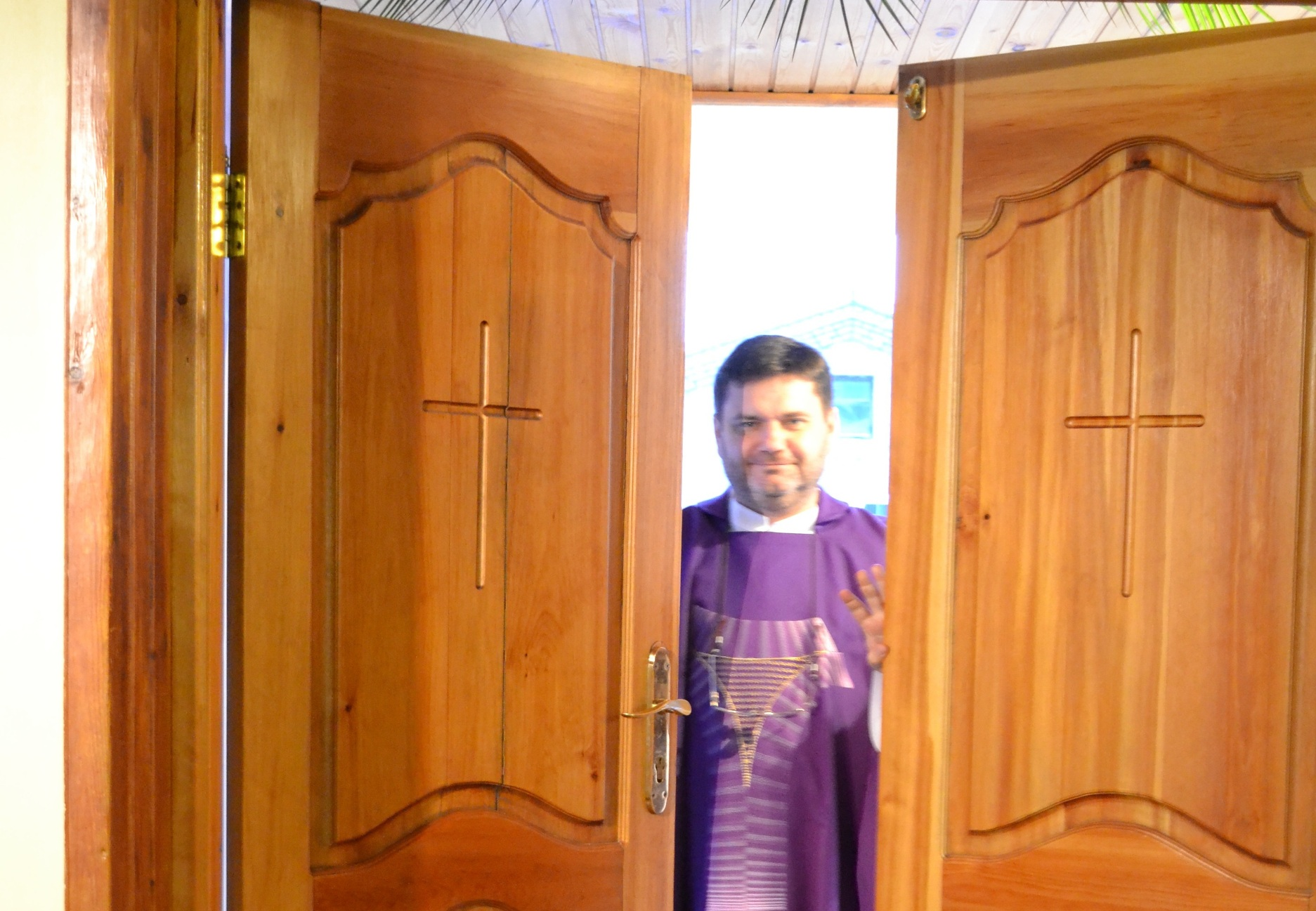 Открытие Святых Врат Милосердия в обители францисканцев (ФОТО)