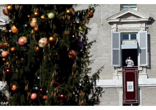 Воскресное размышление Папы Франциска перед чтением молитвы Angelus 13 декабря 2015 г.: никто не исключен из объятий Божьего Милосердия