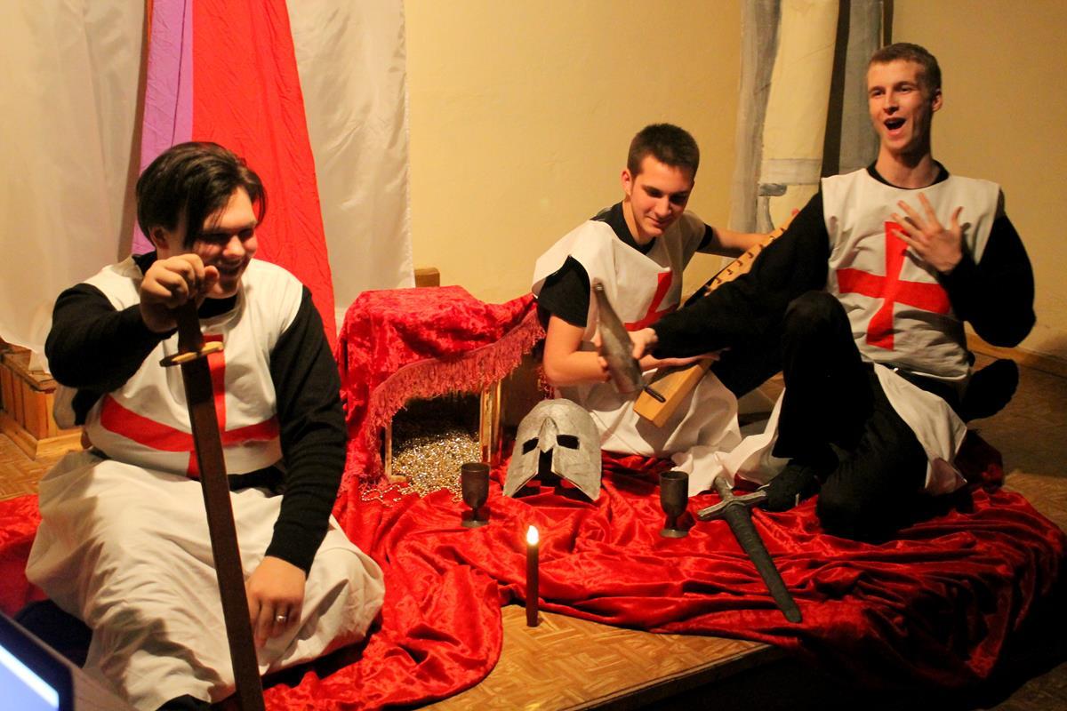 Рождественский спектакль по сказке Сельмы Лагерлёф