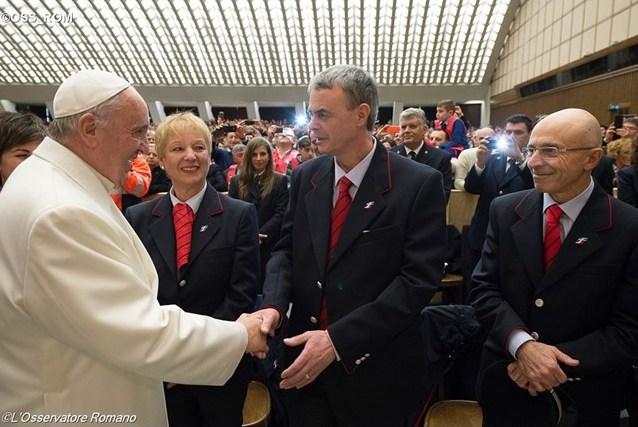 Папа – итальянским железнодорожникам: преображаясь Божьим милосердием, мы можем обновить всё общество