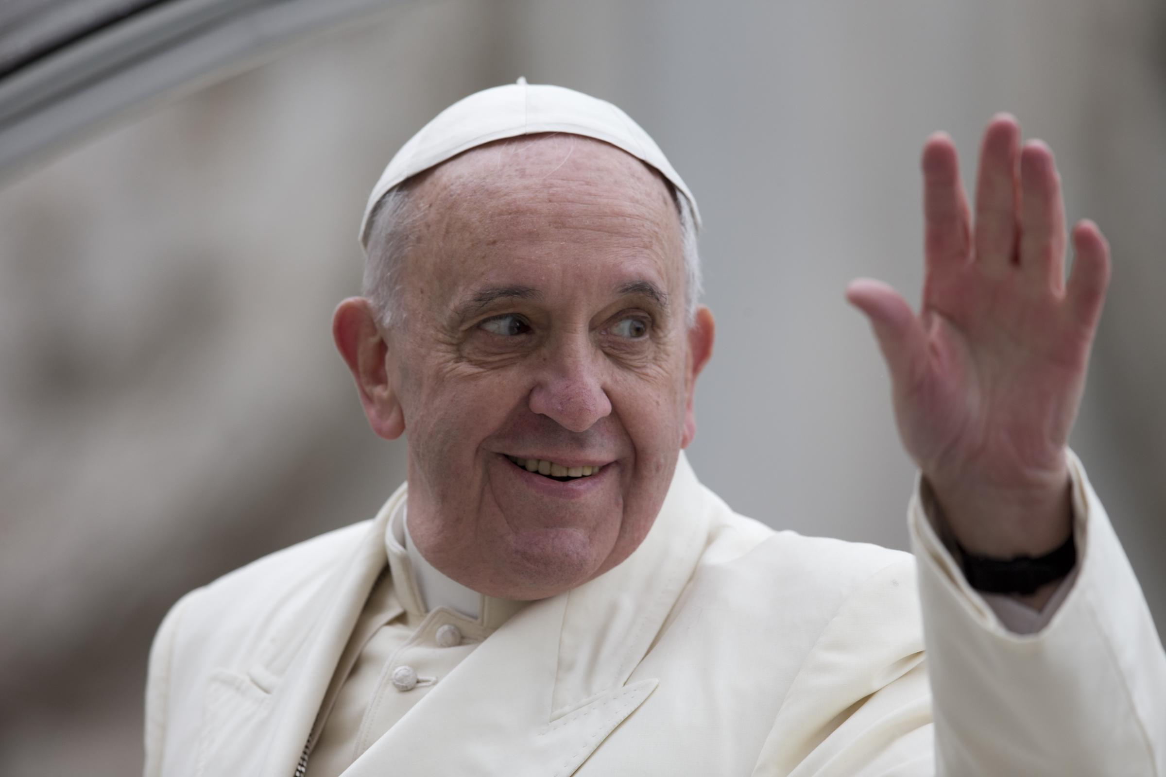 Папа: цель Юбилея — служение последним