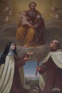 Святой Иоанн Креста и святая Тереза Авильская