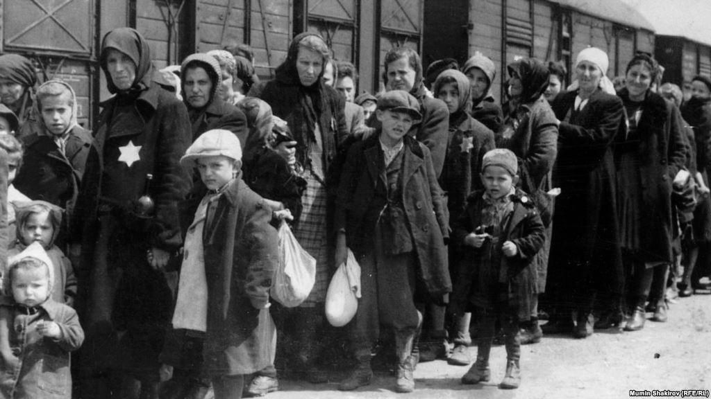 Liberation of concentration camps children