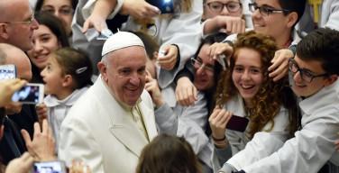 Юбилейное послание Папы подросткам: делайте ставку на высокие идеалы