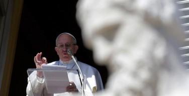 Размышление Папы Франциска перед чтением молитвы Angelus 24января: «Миссия Церкви и каждого христианина – благовествовать нищим»