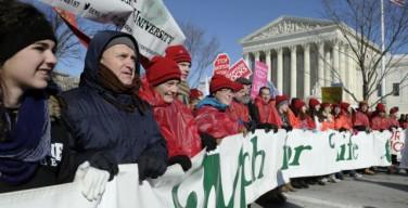 Марш в защиту жизни пройдет в США