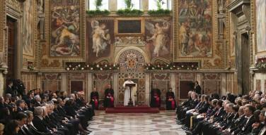 Речь Папы Франциска к дипломатическому корпусу, аккредитованному при Святейшем Престоле