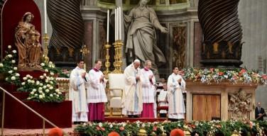 Папа Франциск: Материнство Пресвятой Девы Марии — это икона мира