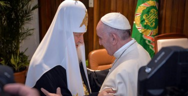 Папа: «Мы согласны в том, что единство созидается в пути» (+ ВИДЕО)