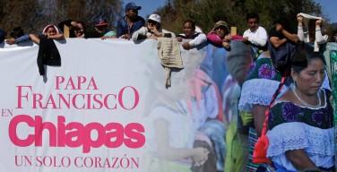 Папа Франциск посетил штат Чьяпас