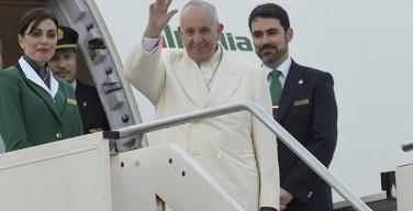 Папа Франциск вылетел в Гавану на встречу с Патриархом Кириллом