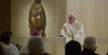 Папа: очень трудно залечить раны коррупции