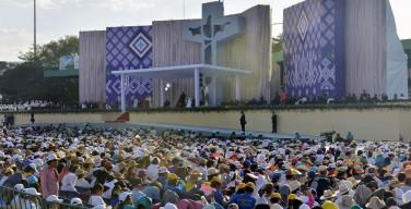 Папа Франциск в штате Мичоакан