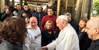 Наркотики нельзя победить наркотиками. Визит Папы Франциска в общину Святого Карла