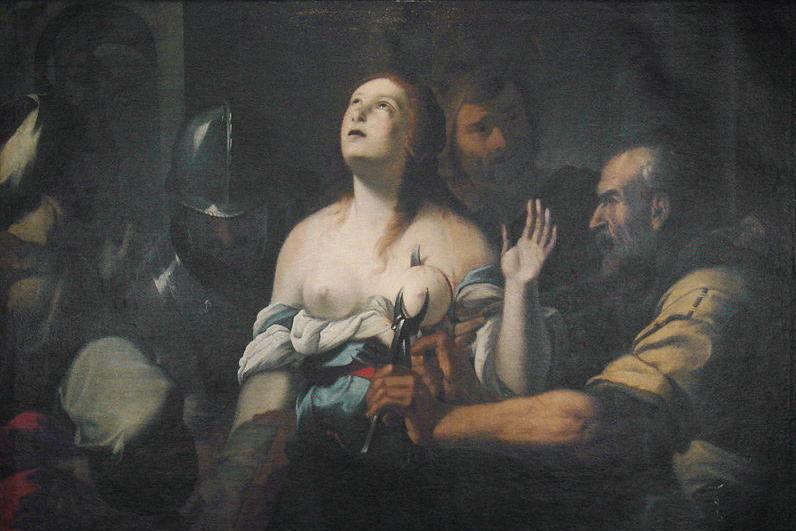5 февраля. Святая Агата (Агафия), дева и мученица. Память