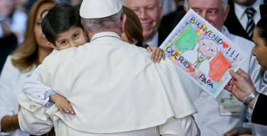 Мехико: Папа встретился с тяжелобольными детьми (ФОТО + ВИДЕО)