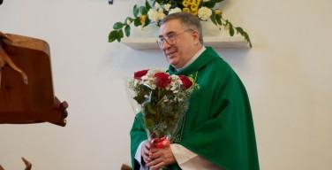 Томские католики простились с о. Майклом Десджардинсом, переехавшим в Москву