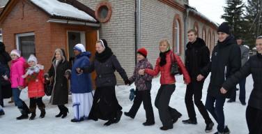 Католический карнавал на Расточке