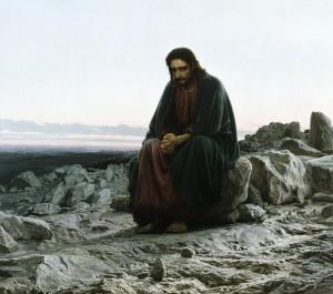 И. Н. Крамской. Иисус в пустыне