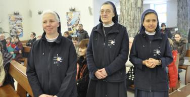 В Кемерово отметили 25-летие служения монахинь из Конгрегации Сестер Служительниц Святого Духа в России