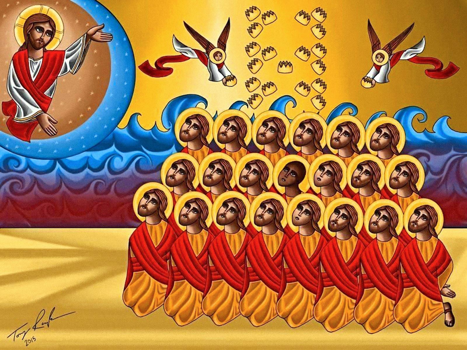 В Египте почтили память коптов-христиан, убитых год назад в Ливии джихадистами ИГИЛ