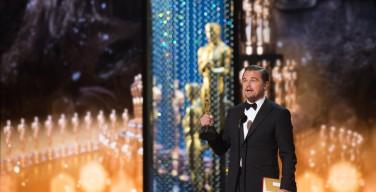 Оскароносный Леонардо Ди Каприо призвал народы Земли задуматься о глобальной катастрофе