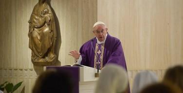 Папа: прощение Бога безгранично
