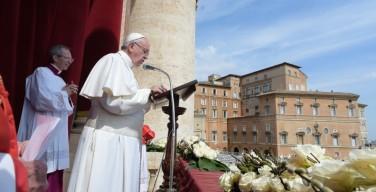 Послание Папы Франциска «Граду и Миру»: Иисус есть Воскресший Господь!